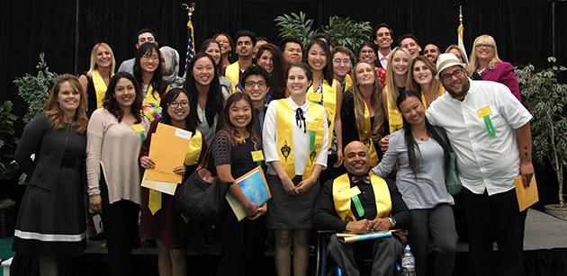 photo of student scholarship recipients