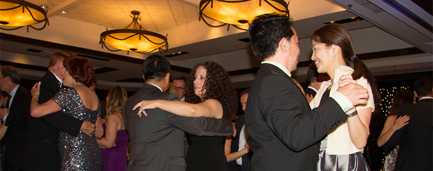 guests dancing at the Gala